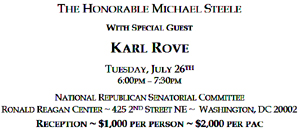 michael steele - karl rove - corruption
